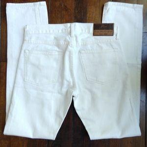 J. CREW   Men's 484 Selvedge Denim Slim Jeans